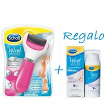 Dr Scholl Velvet Smooth Diamond Chrystals Lima Electrónica Rosa + Regalo Serum Intenso 30ml