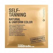 Comodynes Autobronceador Toallita Self-Tanning Cara Cuerpo, 1Ud