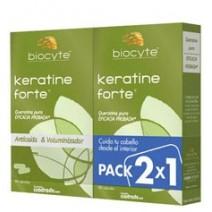 Biocyte Duplo Keratine Forte, 2 x 40capsulas