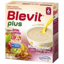 Blevit Plus Multicereales Con Frutos Secos Miel y Frutas 600g