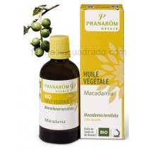 Pranarom Aceite Vegetal Macadamia 50ml Bio