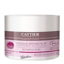 Cattier Mascarilla Reparadora Cabello Seco, 200 ml.