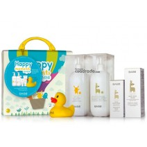 Babé Happy Moments Maletin Pediatric Baby Gel, 500ml + Leche, 500ml +Hidrantante Facial,50ml+ Pasta