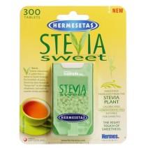 Hermesetas Stevia Edulcorante , 300 comp