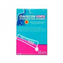 Gaviscon Forte 12 sobres suspensión oral
