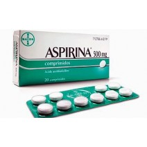 Aspirina 500 mg ,20 comp