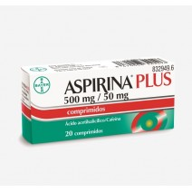Aspirina Plus 500/50 mg ,20 comp