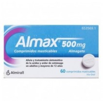 Almax 500 mg 30 comp. masticables