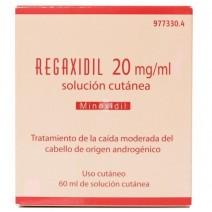 Regaxidil 2% solución cutanea 1 frascos de 60 ml