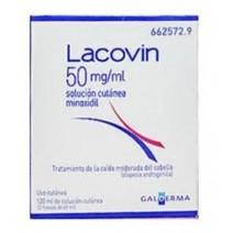 Lacovin 5mg/ml solución cutánea 2 frascos de 60 ml