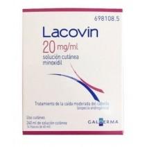 Lacovin 2mg/ml solución cutánea 2 frascos de 60 ml