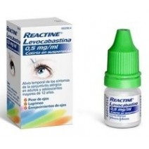 Reactine Levocavastina 0,05% Colirio en solución 4 ml