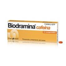 Biodramina Cafeina 12 comp.