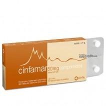 Cinfamar 50mg 10 comprimidos