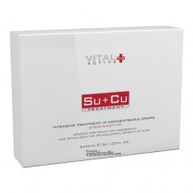 Plus Active SU+CU Sebo Choque + Caida Choque 2X35 ml