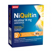 NIQUITIN CLEAR 14 MG/24 H 7 PARCHES TRANSDERMICOS 78 MG