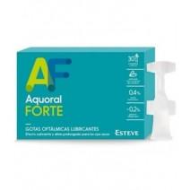 Aquoral Forte con Ac. Hialuronico 0.4% Gotas Oftalmicas 0.5 ml 30 monodosis