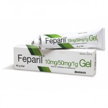 FEPARIL GEL GEL TOPICO 40 G