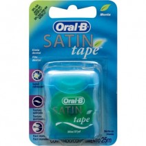 Oral B Satin Tape Fluor Cinta Dental Menta 25m