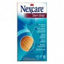Nexcare Steri Strips Puntos de Sutura 1 de 3x6 mmx 75 mm + 1 de 5x3 mm x 75 mm
