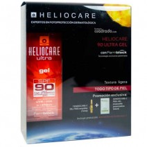 Heliocare Ultra Gel SPF90 50 ml + Endocare Gel Oil free 7 amp + C-Peel 3 und