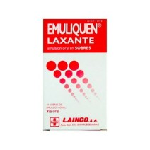 EMULIQUEN LAXANTE 10 SOBRES EMULSION ORAL 15 ML