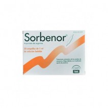 SORBENOR 1 G 20 AMPOLLAS BEBIBLES 5 ML