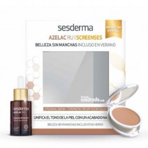 Sesderma Azelac Ru Serum 30ml + Screenses SPF50+ Compacto Ligth 10g