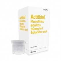 ACTITIOL MUCOLITICO 50 MG/ML SOLUCION ORAL 200 ML