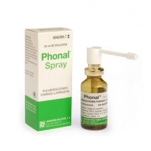 PHONAL SPRAY AEROSOL TOPICO SOLUCION 20 ML
