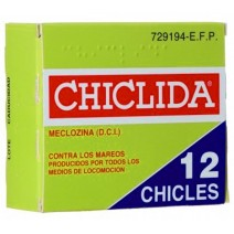 CHICLIDA 25 MG 12 CHICLES