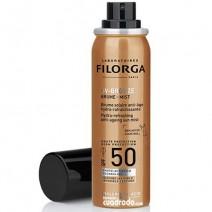 Filorga Solar UV-Bronze Bruma Rostro Antiedad SPF50+, 60 ml