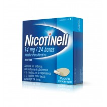 NICOTINELL 7 MG/24 H 14 PARCHES TRANSDERMICOS 17.5 MG