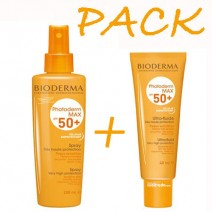 Biderma Photoderm SPF50+ Spray 200 + Aquafluido 50