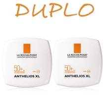 Anthelios Duplo Compacto Oscuro 50+ 2 x 9g