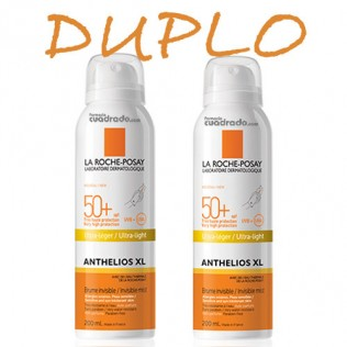 Anthelios Duplo Bruma 50+ 2 x 200ml