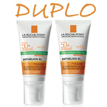 Anthelios Duplo Toque Seco Color 50+ 2 x 50ml