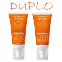 Avene Solar Duplo 50+ Emlulsion Sin Perfume 2x50ml