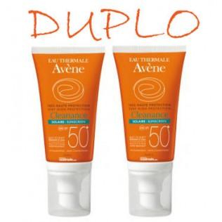 Avene Solar Duplo 50+ Cleanance 2 x 50ml