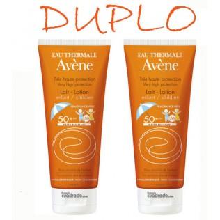 Avene Solar Duplo 50+ Leche Infantil 2 x 100ml