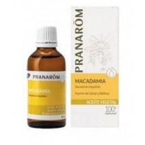 Pranarom Aceite Vegetal Macadamia, 50 ml
