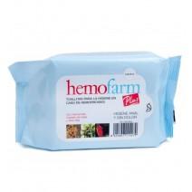 Hemofarm Plus Toallitas Higiene en Caso de Hemorroides, 60 unidades