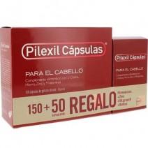 Pilexil Anticaída Cápsulas, 150 cápsulas+REGALO Anticaída Cápsulas, 50 cápsulas