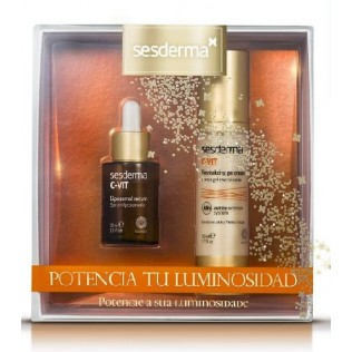 SESDERMA PACK C-VIT CREMA-GEL + SERUM