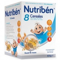Nutribén 8 Cereales 600g