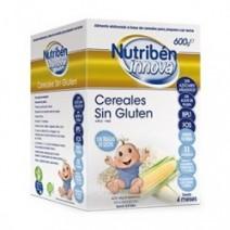 Nutribén Innova Papilla Cereales sin Gluten +4m, 600g