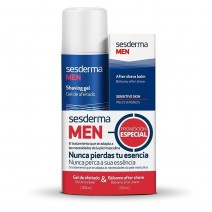 Sesderma Pack Men Gel Afeitado 200ml + balsamo After Shave 100ml