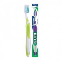 GUM Cepillo Dental Adulto 493 Technique Plus Compacto Medio 1u