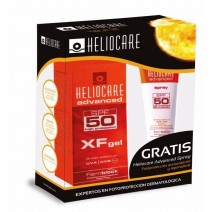 Heliocare Pack XF Gel SPF50+ 50ml + Regalo Spray Corporal SPF50+ 75ml