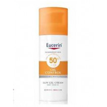 Eucerin Solar Facial SPF50+ Gel-Crema Toque Seco, 50ml